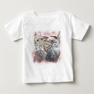 Snowy Owls Baby T-Shirt