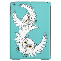 snowy owls flying iPad Air Savvy case iPad Air Cases