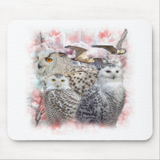 Snowy Owls Mouse Pad