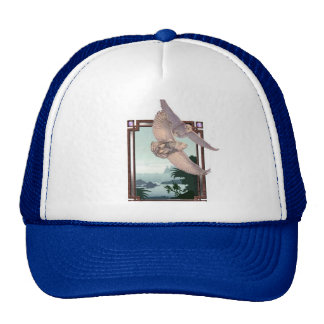 Snowy Owls Trucker Hat