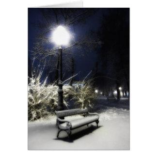 Snowy Park Card