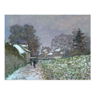 Snowy Path at Argenteuil Postcard