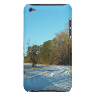 Snowy Path Barely There iPod Case