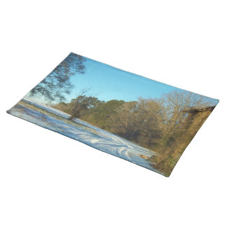Snowy Path Placemat
