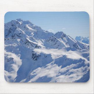 Snowy Peak Mouse Pad