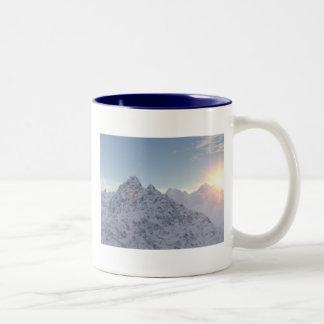 """""""Snowy Peaks"""" Mug"""