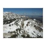 Snowy Peaks of Grand Teton Mountains I Photography Canvas Print