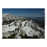 Snowy Peaks of Grand Teton Mountains I Photography Card