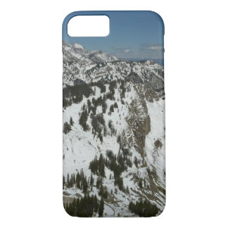 Snowy Peaks of Grand Teton Mountains I Photography iPhone 7 Case