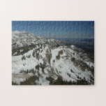Snowy Peaks of Grand Teton Mountains I Photography Jigsaw Puzzle
