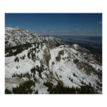 Snowy Peaks of Grand Teton Mountains I Photography Poster