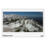 Snowy Peaks of Grand Teton Mountains I Photography Wall Decal