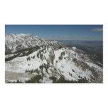 Snowy Peaks of Grand Teton Mountains I Rectangular Stickers