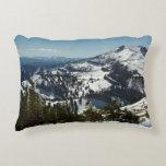Snowy Peaks of Grand Teton Mountains II Photo Accent Pillow