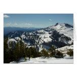 Snowy Peaks of Grand Teton Mountains II Photo Card