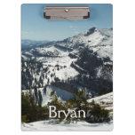 Snowy Peaks of Grand Teton Mountains II Photo Clipboard