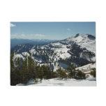 Snowy Peaks of Grand Teton Mountains II Photo Doormat