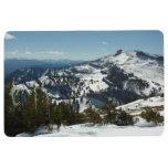 Snowy Peaks of Grand Teton Mountains II Photo Floor Mat