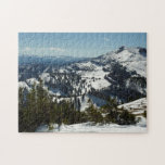 Snowy Peaks of Grand Teton Mountains II Photo Jigsaw Puzzle