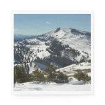 Snowy Peaks of Grand Teton Mountains II Photo Paper Napkin