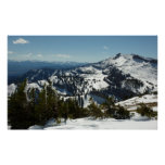 Snowy Peaks of Grand Teton Mountains II Photo Poster