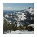Snowy Peaks of Grand Teton Mountains II Photo Tile