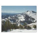 Snowy Peaks of Grand Teton Mountains II Photo Tissue Paper