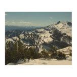 Snowy Peaks of Grand Teton Mountains II Photo Wood Wall Decor