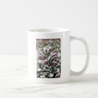 Snowy Phlox Classic White Coffee Mug