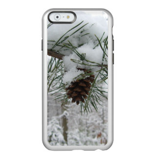 Snowy Pine Branch Winter Nature Photography Incipio Feather Shine iPhone 6 Case