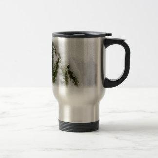 Snowy Pines Travel Mug