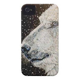 Snowy Polar bear Case-Mate iPhone 4 Case