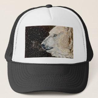 Snowy Polar bear Trucker Hat