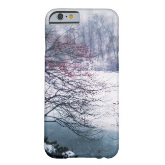 Snowy Pond in Central Park Barely There iPhone 6 Case