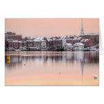 Snowy Portsmouth,NH Waterfront Card