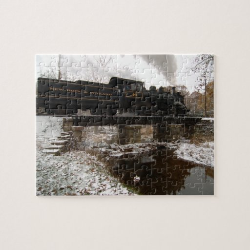 Snowy Reflection Puzzle