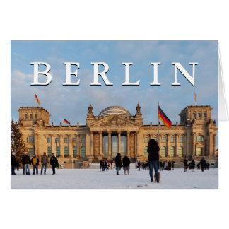 Snowy Reichstag_001.02.T.3 (Reichstag im Schnee) Card
