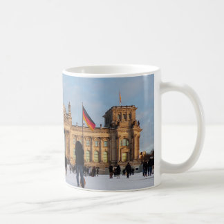 Snowy Reichstag_001.03 (Reichstag im Schnee) Coffee Mug