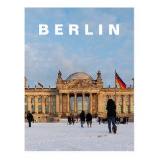 Snowy Reichstag 01.2, BERLIN (Reichstag im Schnee) Postcard