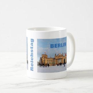 Snowy Reichstag_02.02.T (Reichstag im Schnee) Coffee Mug