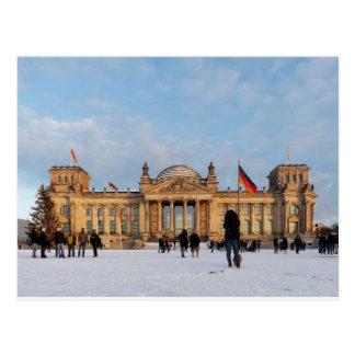 Snowy Reichstag (Reichstag im Schnee) Postcard