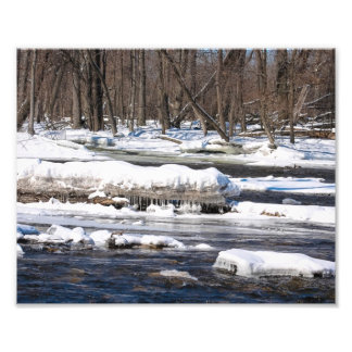Snowy River In Wisconsin Photo Art