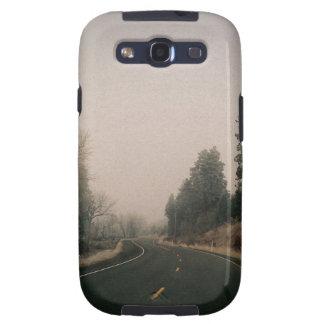 snowy road samsung galaxy s3 cases