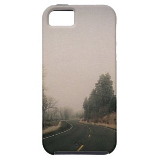 snowy road iPhone 5 cases