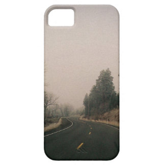 snowy road iPhone 5 covers