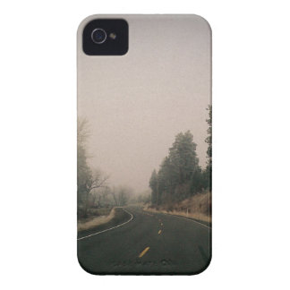 snowy road iPhone 4 covers