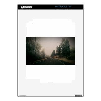 snowy road skin for iPad 2