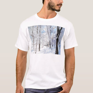 Snowy Road T-Shirt