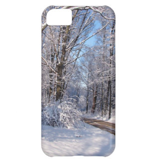 Snowy Rural Michigan iPhone 5C Cover
