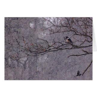 Snowy Scene Card